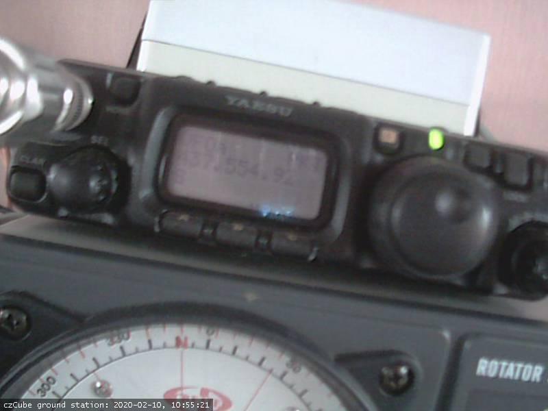 czCube ground station - 2020-02-18 23:53